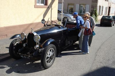 Bugattibuilder Com Article First Ride In A Vintage Bugatti By